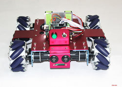 4WD Mecanum Wheel Beginner Mobile Robot Kit