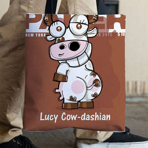 Mr. Oink Cow-Dashian In a Bag