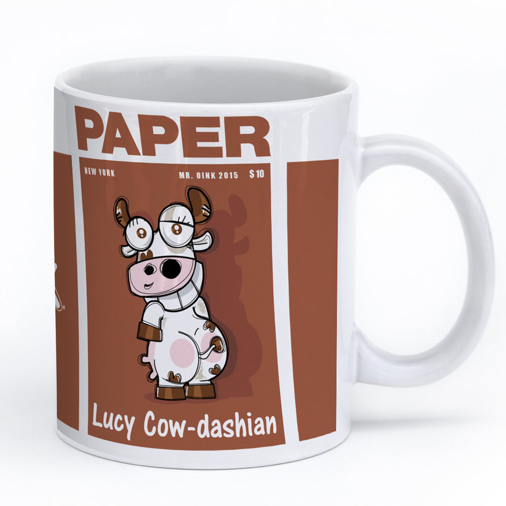 Mr. Oink Cow-Dashian Mug