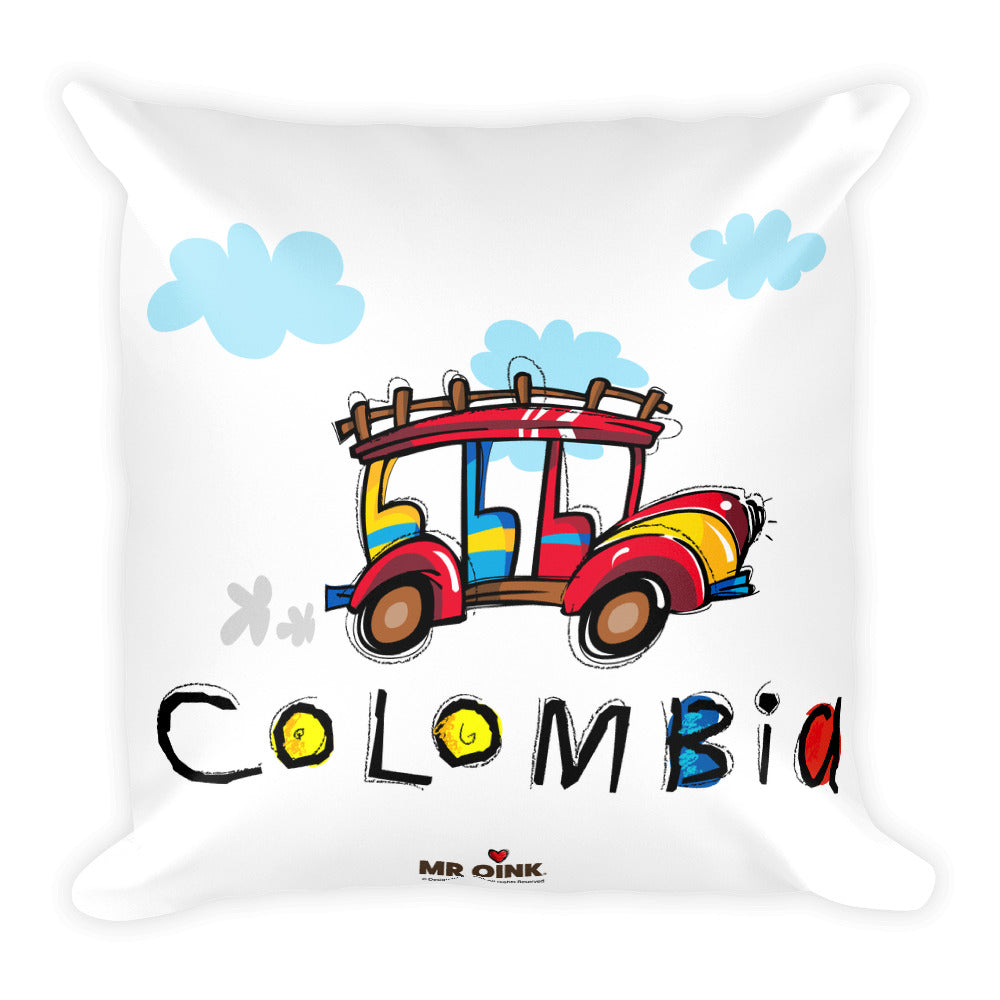 Pillow Chiva Colombia