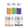 Actives Serums Trio with Day & Night Moisturizers