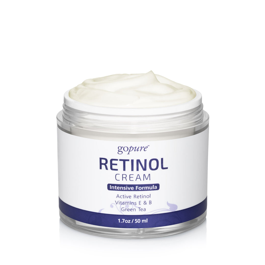 goPure Retinol Facial Cream - Airless Jar - 1.7oz