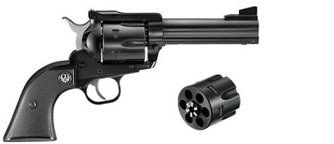 "RUGER BLACKHAWKCONV c.357 Mag/9MM, 4.62""CONVERTIBLE"