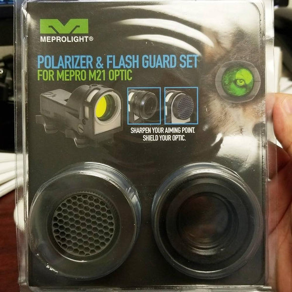 Meprolight M21 Polarizer & Flash Guard Kit