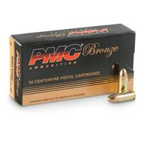 PMC 9x19MM LUGER 124GR FMJ 50RDS