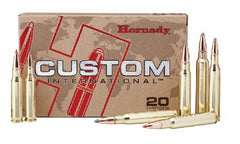 HORNADY AMMO 270 WIN 150GR CUSTOM INTERNATIONAL   80588