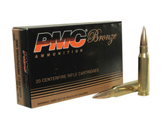 PMC c.308 WIN (7.62 NATO) 147GR FMJ-BT. 20PK