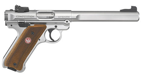 "RUGER MKIV COMPETITION PISTOL 22LR 6.88"" BULL BARREL"