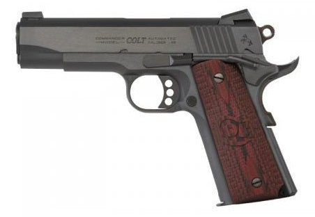 "COLT COMBAT COMMANDER .45 ACP 4.25"" BLACK WDCN SIGHT"