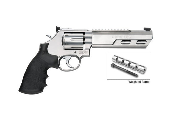"S&W 629 c.44 MAG 6"" REV WEIGHTED BARREL"