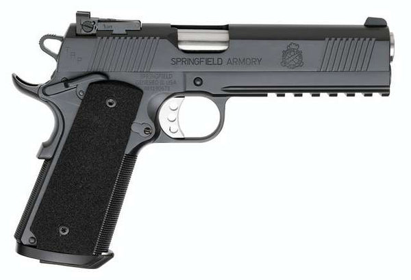 SPRINGFIELD 1911-A1 OP .45 TRP BL W/TRIJICON N.S.CA VER PC9105LCA18