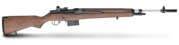 SPRINGFIELD NATIONAL MATCH M1A .308 WALNUT NM STS BRL NA9802