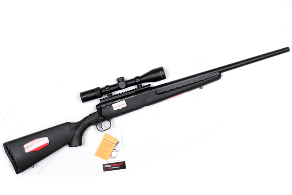 Savage Axis II XP  Heavy Barrel Scope Combo in 6.5 Creedmoor,  308 and 223