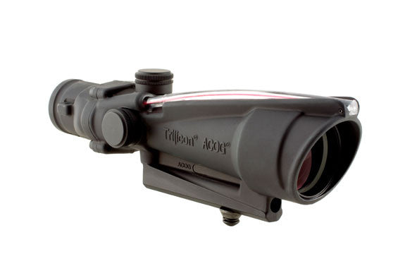 Trijicon Acog 3.5X35 Dual Illuminated Red Triangle Bac .223