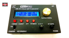 Youkits HB1B 2015 version 4 band QRP HF transceiver coming soon