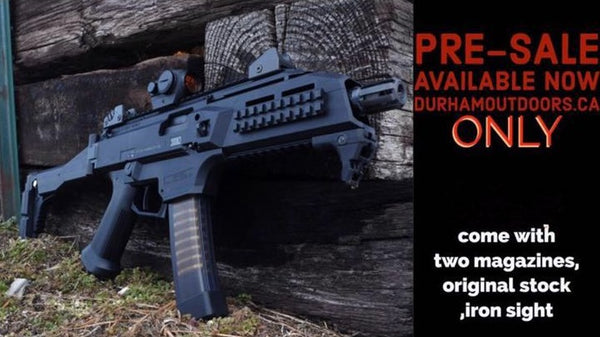 CZ Scorpion EVO 3 S1 Pistol with folding stock 5rds mag 9mm