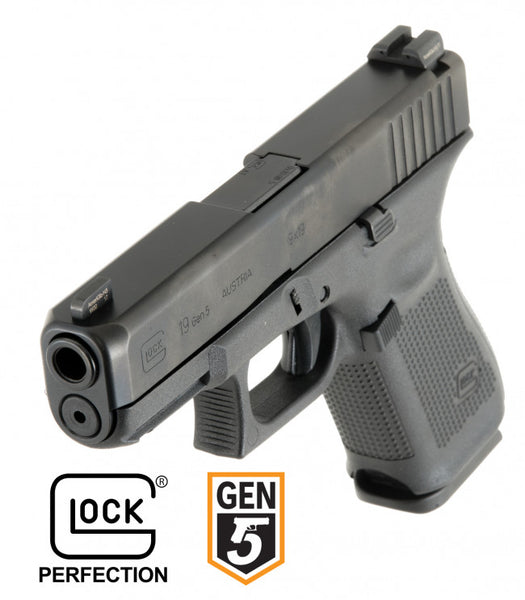 GLOCK 17 GEN5, 4.48 BARREL, AMERIGLO BOLD SIGHTS, 9MM, BLACK