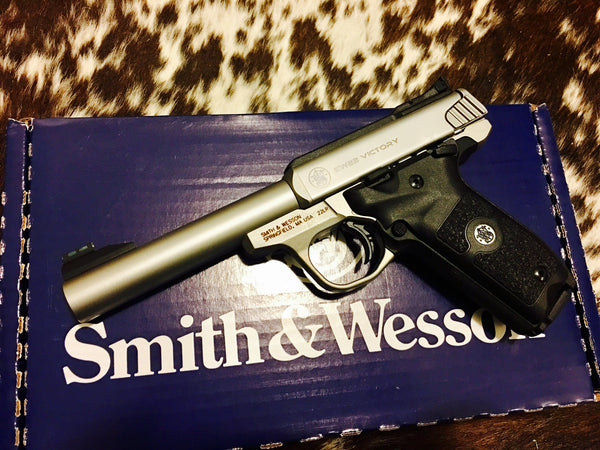 "S&W SW22 VICTORY c.22 5.5"" BBL STS"
