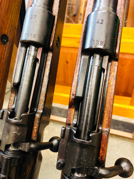 WWII GERMAN K98 MAUSER RIFLE Russia capture