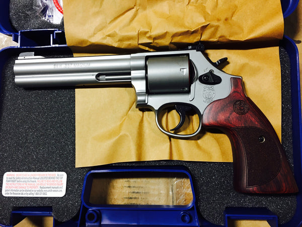 "S&W 686 357 MAG 6"" 6 SH STS"
