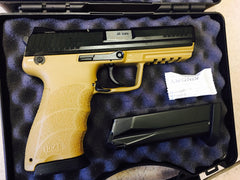 Heckler & Koch H&K HK45 FULL .45ACP DA/SA 3 DOT BLK/TAN