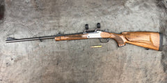 BLASER K95 LUXUS SINGLE SHOT 270WIN COME WITH FACTORY QD SCOPE RING