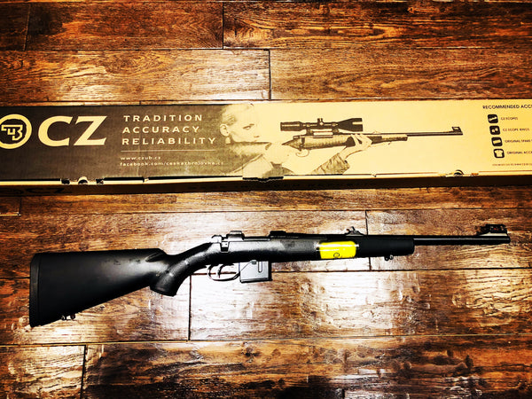 "CZ 527 CARBINE CAL. 7.62x39, 5-RD MAG 18.5"" SYNTHETIC STOCK"