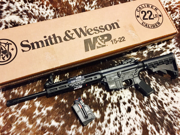 "S&W M&P15 22LR 16.5"" restricted"