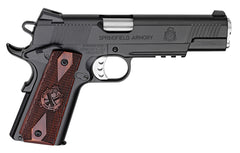 "SPRINGFIELD 1911 LOADED .45 ACP 5"" CARBON STEEL"