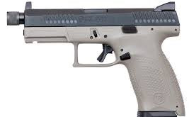 "CZ P-10 C 9MM 4.6"" URBAN GREY THREADED BARREL"