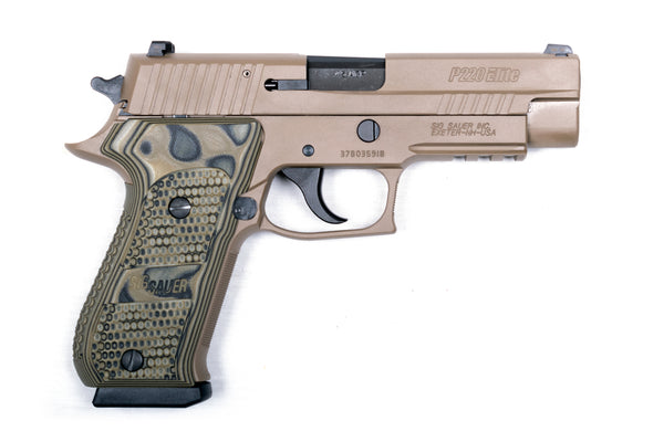 SIG P220R .45 AUTO Scorpion, SigLite Night Sights P220