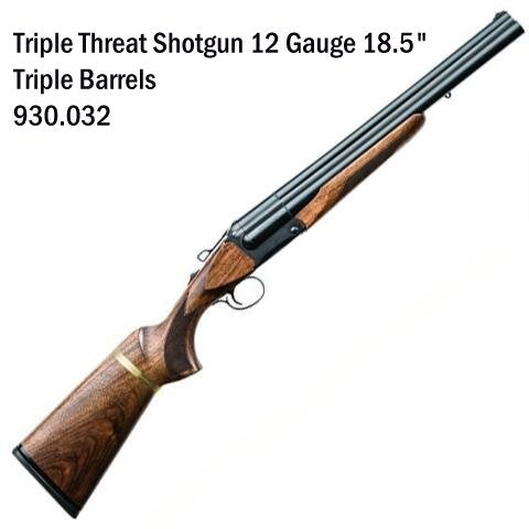 CHIAPPA 12GA. TRIPLE THREAT 18.5""