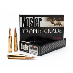 NOSLER 6.5X55 SWEDISH MAUSER 140GR ACCUBOND