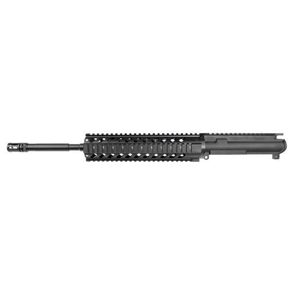 "CUSTOM AR15 CUSTOM UPPER 556 16"" MID LENGTH QUAD 1:7"