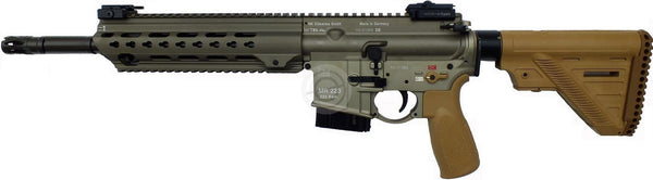 "H&K MR223A3 c.223 14.5"" RAL8000 and BLACK Slim line"