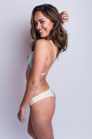 Stone Fox Swim Byron Bottom Sky/Naked