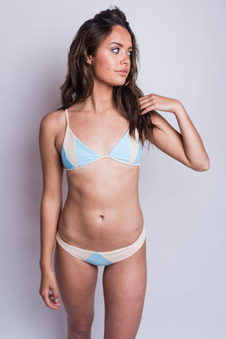 Stone Fox Swim Isla Top Sky/Naked
