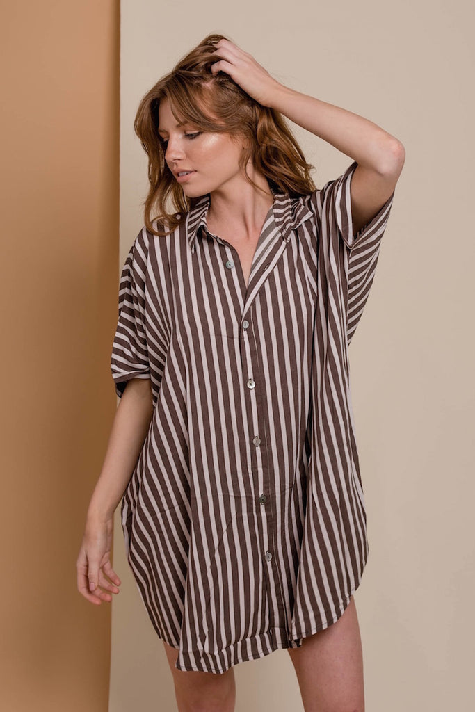 ACACIA Mombasa Shirt Dress Upper East Side