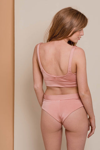 New! Boys & Arrows Raz Mid Waist Bottom Blush + Bashful