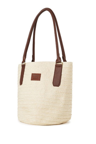 New! Brixton Bismarck Bag Natural