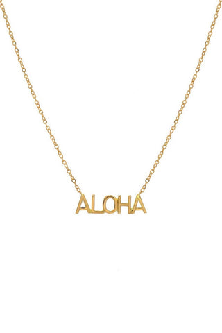 BYCHARI ALOHA Necklace