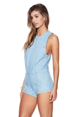 Beach Riot Dhelia Denim Romper