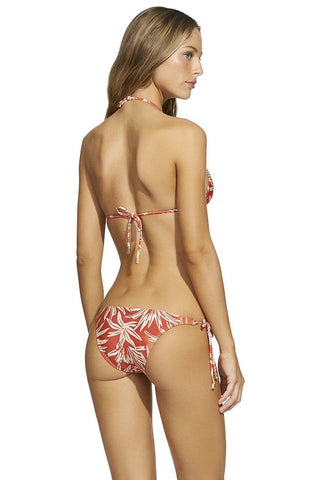 New! ViX Swimwear Palm Long Tie Brasil Bottom