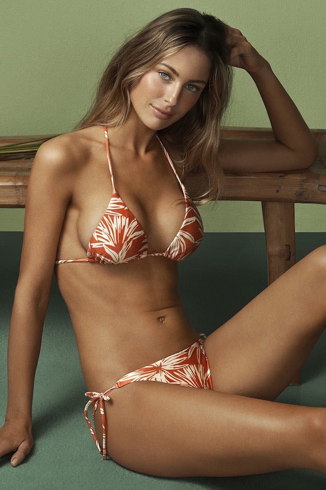 ViX Swimwear Palm Triangle Top