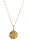 Initial Pendent + Gold