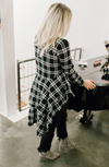 EREZ PLAID BLOUSE