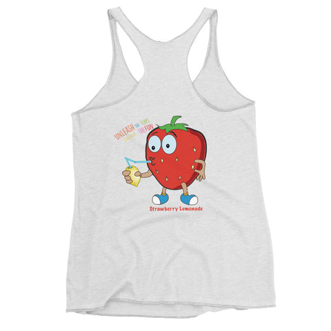 "Dabblicious ""Strawberry Lemonade"" Racerback Tank"