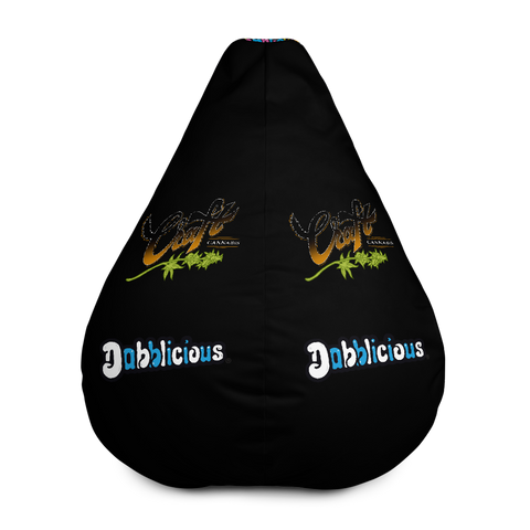 "Dabblicious ""Craft Cannabis"" Bean Bag Chair w/ filling"