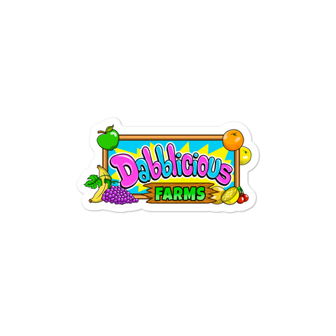 Dabblicious Farms Bubble-free stickers