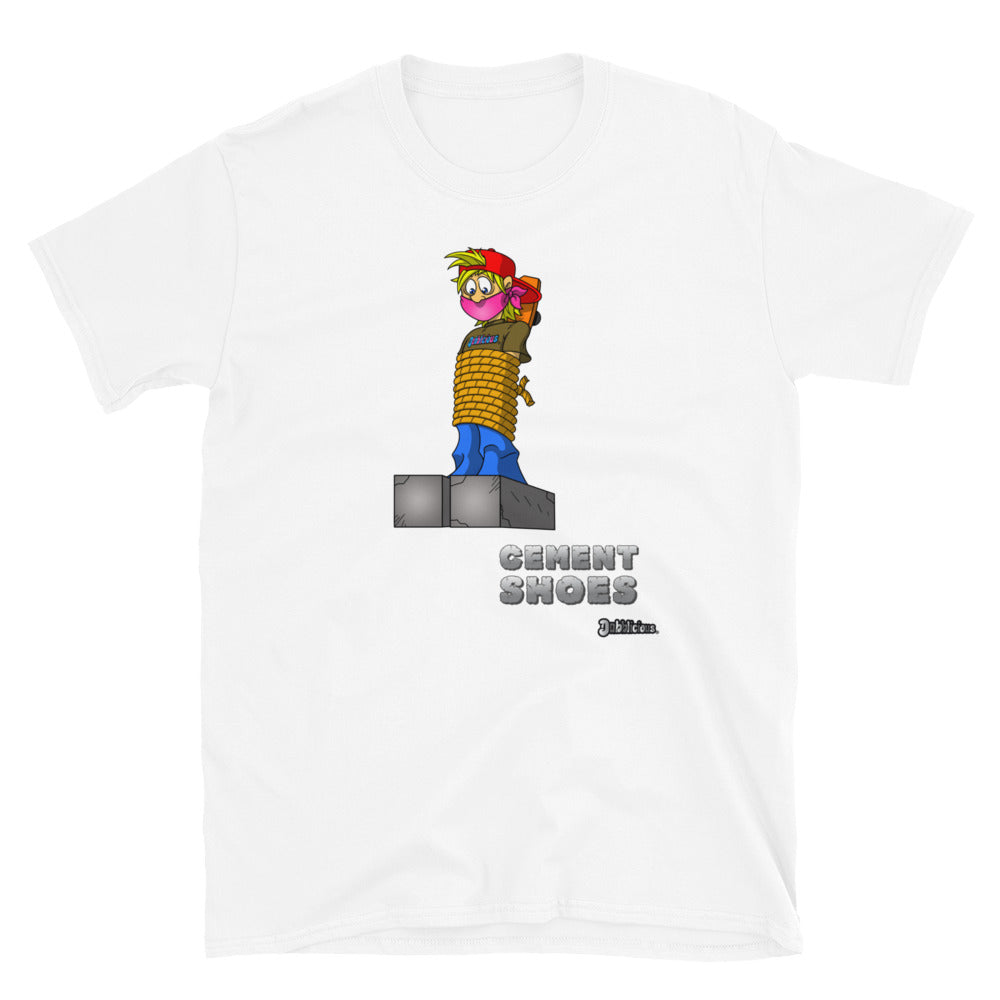 "Dabblicious ""Hashy Larry Cement Shoes"" T-Shirt"